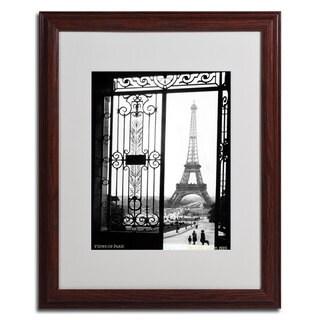 Sally Gall 'Views of Paris' Framed Matted Art