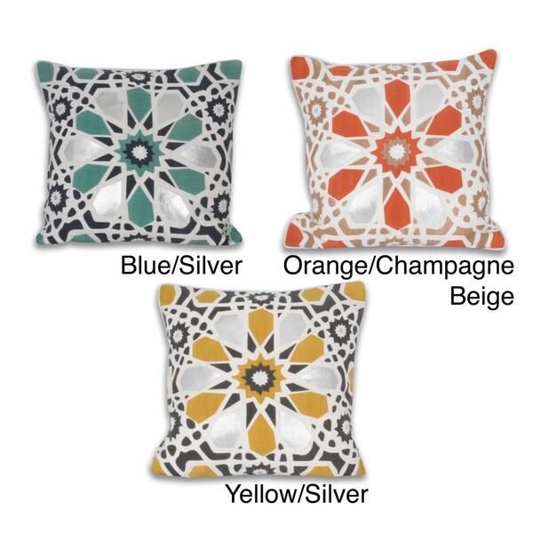 20-inch x 20-inch Kaleidoscope Pillow