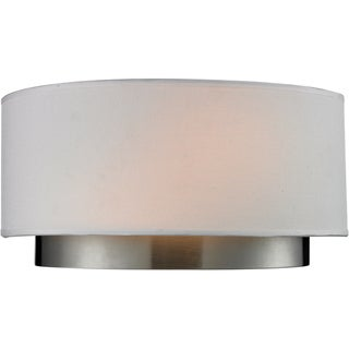Jade Chrome 2-light Wall Sconce