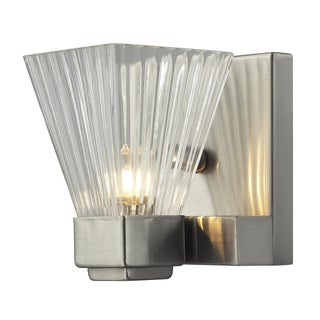 Iluna Brushed Nickel 1-light Wall Sconce
