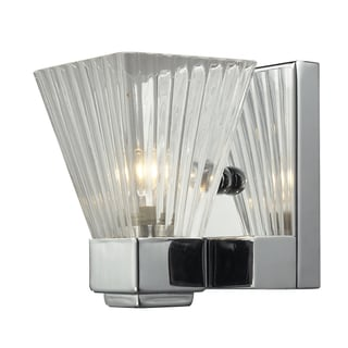 Iluna Chrome 1-light Wall Sconce