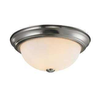Athena Chrome 1-light Flush Mount