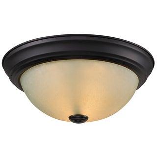 Athena Bronze One-Light 60-Watt Ceiling Fixture