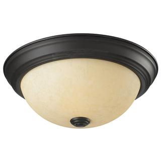 Athena Bronze 1-light Ceiling Fixture