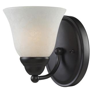 Athena Bronze 1-light Vanity Light