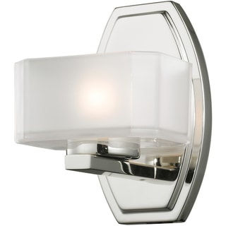 Cabro Chrome Finish 1-light Vanity Light