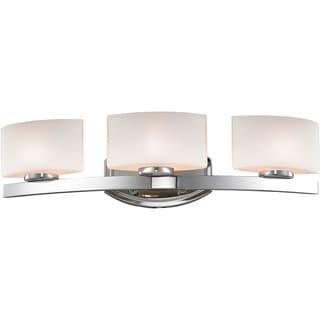 Galati Chrome 3-Light Square Vanity Fixture