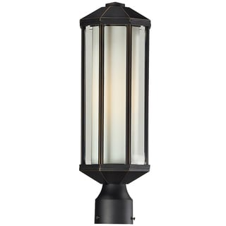 Cylex Oil Rubbed Bronze 1-light Outdoor Post Fixture
