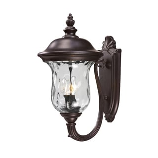 Armstrong Rubbed Bronze 2-light Outdoor Wall Fixture