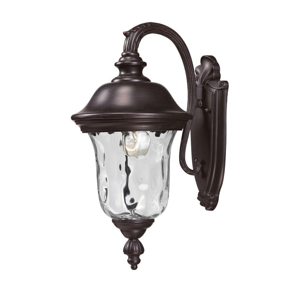 armstrong 2 light bronze outdoor wall mount light 15277742. Black Bedroom Furniture Sets. Home Design Ideas