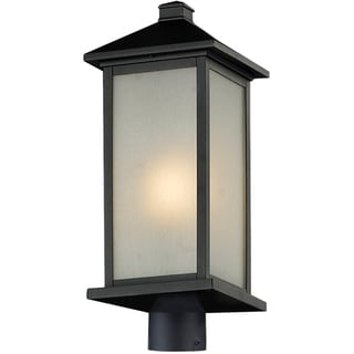 Vienna Black Large Outdoor Post Light Head