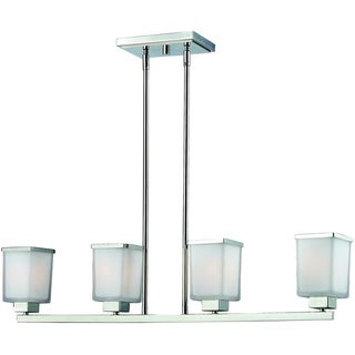Affinia Chrome 4-Light Island Light Fixture