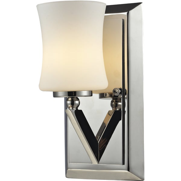 Elite Chrome One-Light Wall Sconce