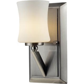Elite Brushed Nickel One-Light Sconce