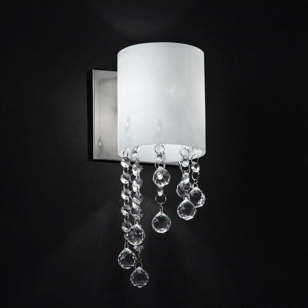Jewel Chrome One-Light Wall Sconce