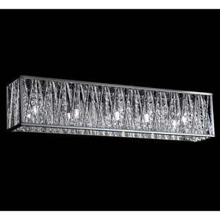 Vanity Light Refresh Kit Lowes : Terra Chrome Five-Light Vanity Fixture - Overstock Shopping - Top Rated Z-Lite Sconces & Vanities