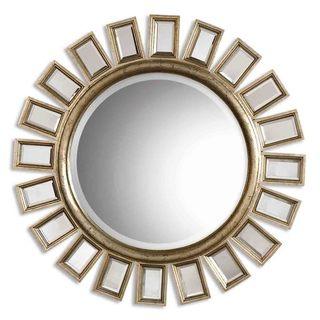 Uttermost 'Cyrus' Round Silver Mirror