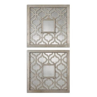 Sorbolo Squares Decorative Mirror (Set of 2)