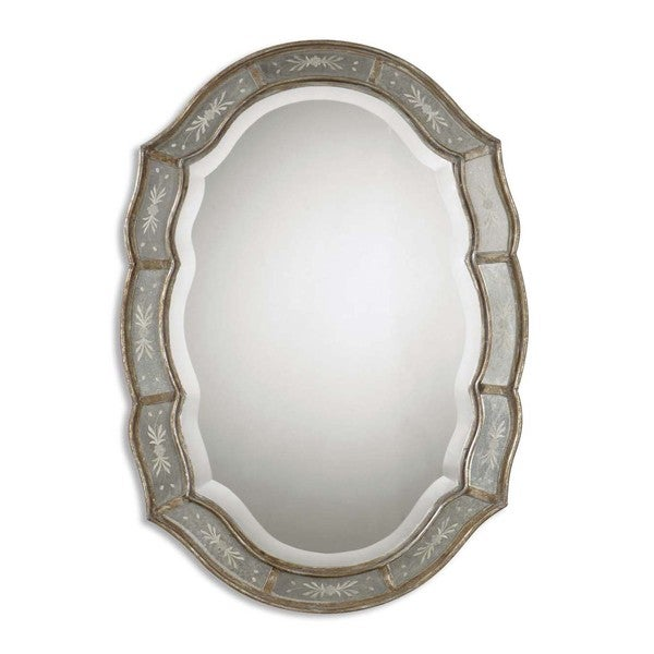 Uttermost Fifi Etched Antique Gold Mirror 15277856