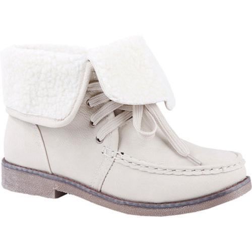 Women's Reneeze Alice-05 White Ankle Boots
