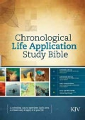 Chronological Life Application Study Bible: King James Version (Hardcover)