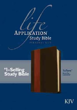 Life Application Study Bible: King James Version, Brown / Tan TuTone, LeatherLike, Personal Size (Paperback)