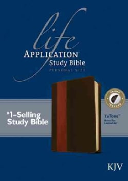 Life Application Study Bible: King James Version Brown / Tan TuTone LeatherLike Personal Size (Paperback)
