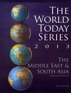 The Middle East & South Asia 2013 (Paperback)