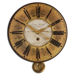 Louis Leniel Cream and Gold Wall Clock