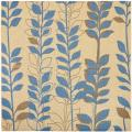 Poolside Natural/ Brown Indoor Outdoor Rug (6'7 Square)