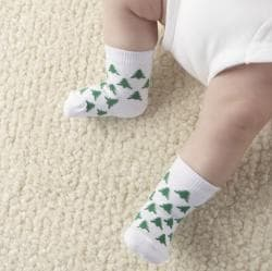Baby Aspen The 12 Days of Christmas Holiday Baby Socks Gift Set