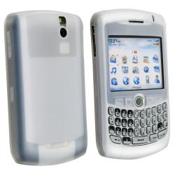 BasAcc Silicone Skin Case for Blackberry Curve 8300, White