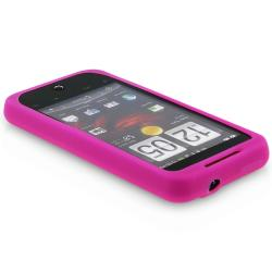 BasAcc Hot Pink HTC Droid Incredible Silicone Skin Case