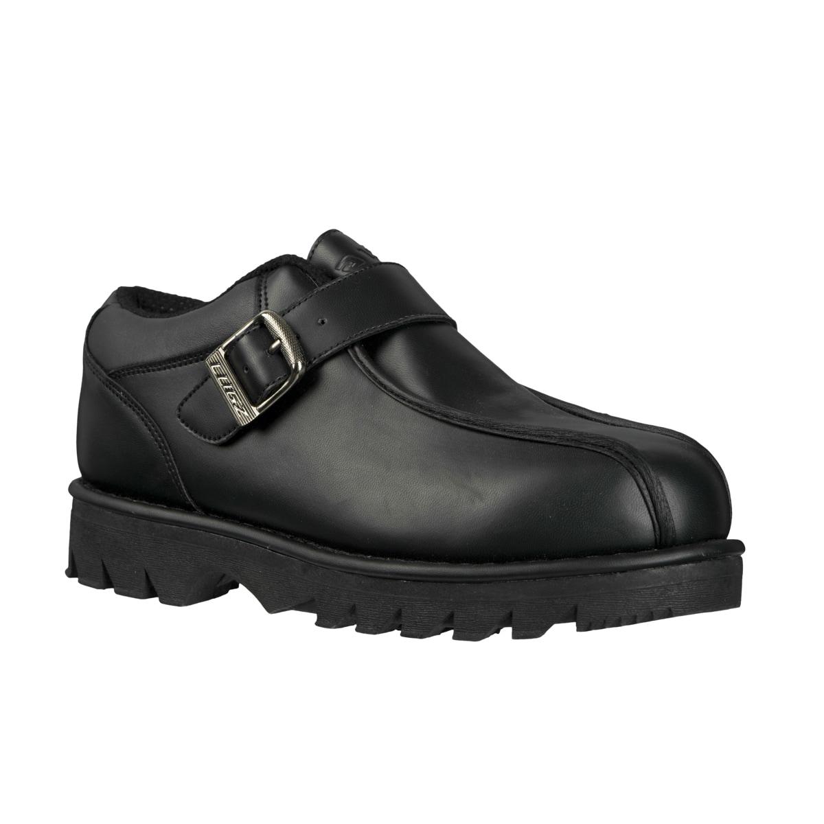 Lugz Men's 'Pathway Lo' Permahide Black Slip-ons