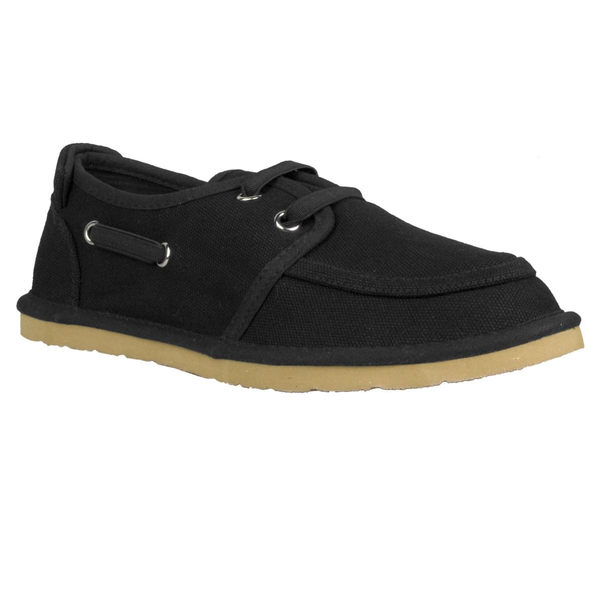 Lugz Men's 'Husk' Black Canvas Slip-on Shoes
