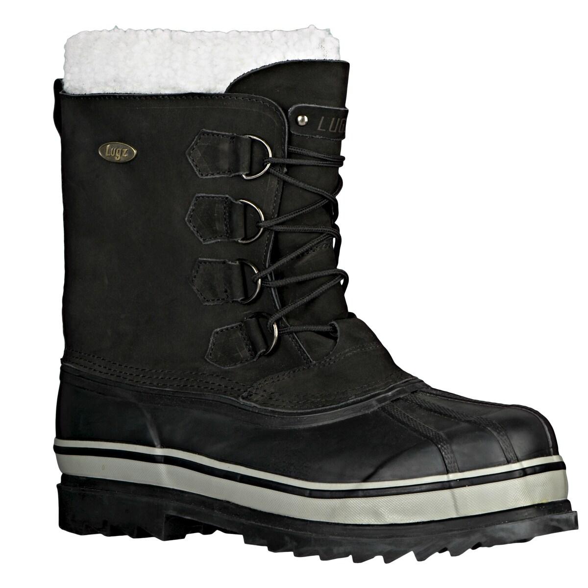 Lugz Men's 'Geyser' Black Nubuck Boots