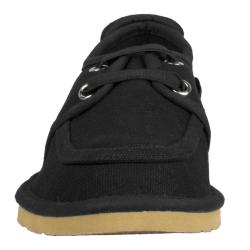 Lugz Men's 'Husk' Black Canvas Slip-on Shoes