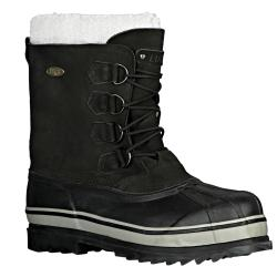 Lugz Men's 'Geyser' Black Nubuck Boots 