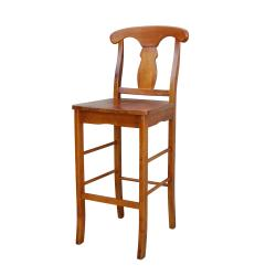 Empire Oak Finish 30-inch Stool