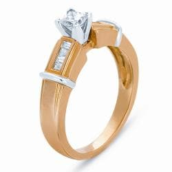 14k Yellow Gold 3/8ct TDW Diamond Ring (H-I, I1-I2)
