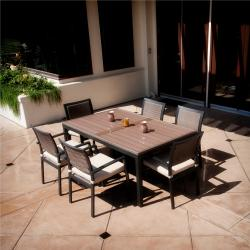 RST Zen 7-piece Patio Furniture Dining Set