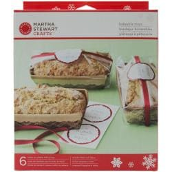 Martha Stewart Woodland 6-inch Bakeable Trays (Pack of 6)