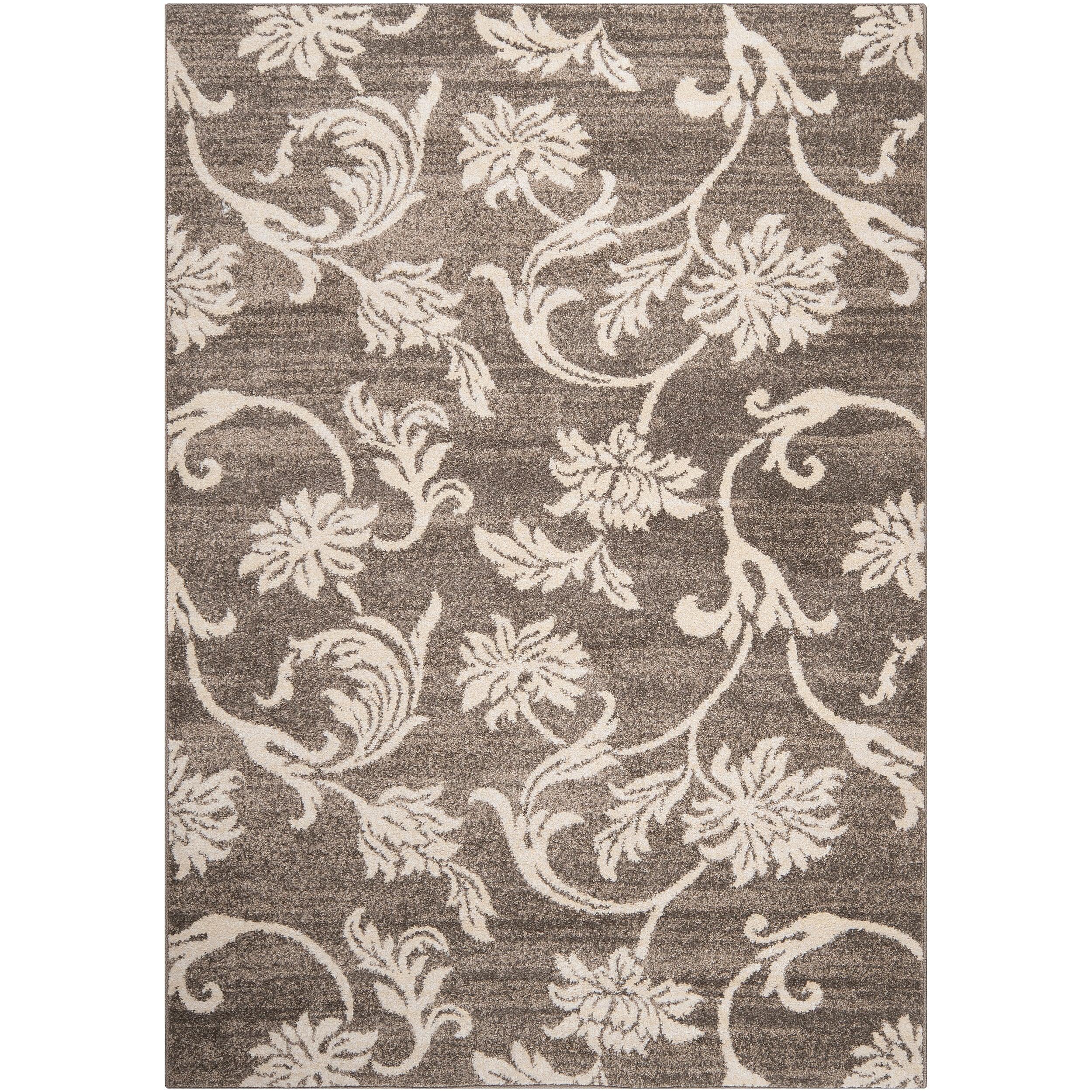 Woven Gray Carno Rug (5'3 x 7'6)