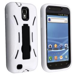 Black/ White Hybrid Case for Samsung Galaxy S II T-Mobile T989