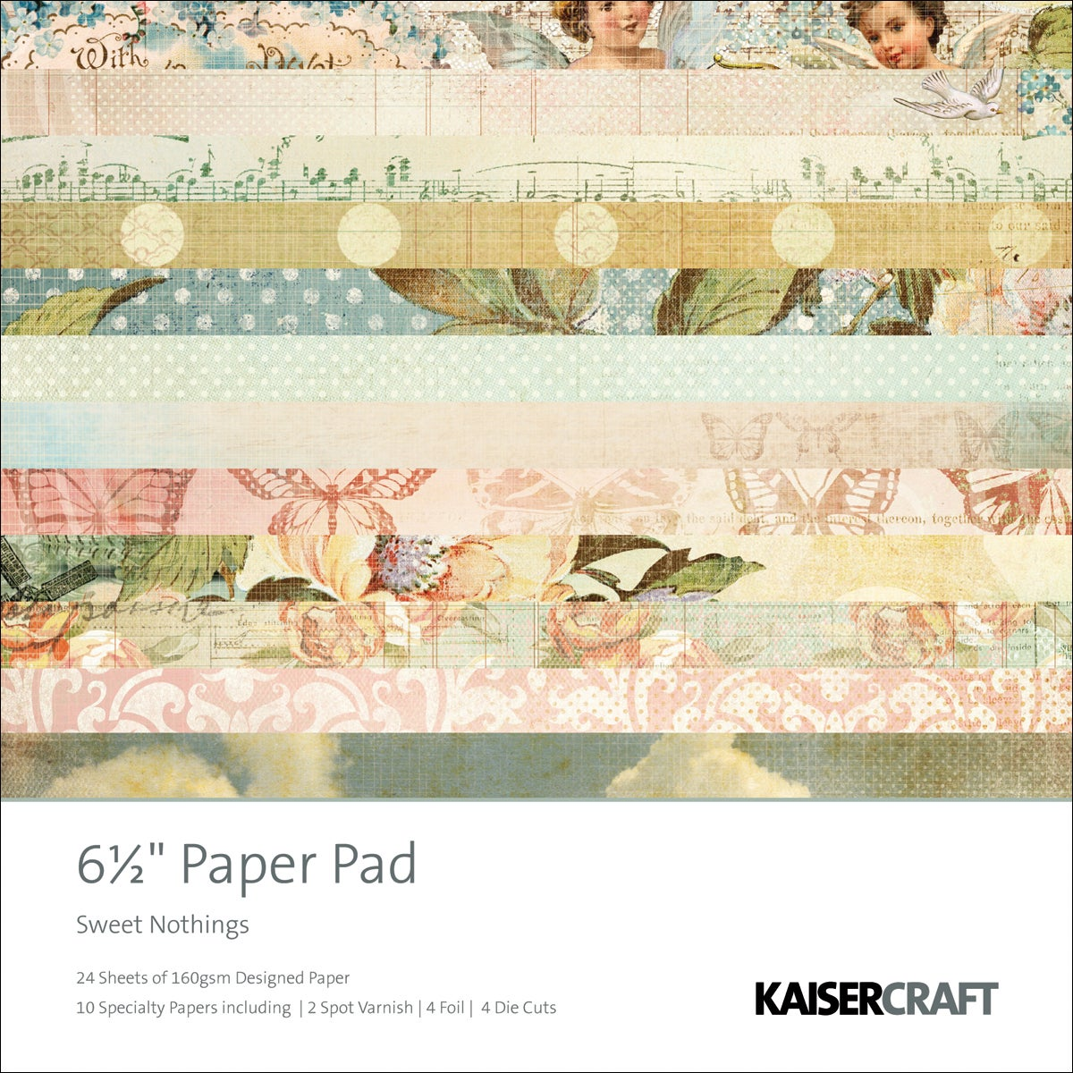Sweet Nothings Paper Pad (40 Sheets)