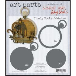 Stampers Anonymous Wendy Vecchi 'Timely Pocket Watches' Art Parts