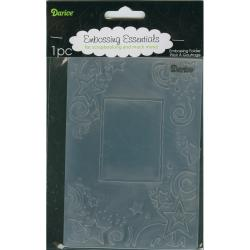 Darice 'Star Border Frame' Embossing Folder