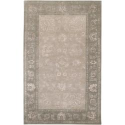 Hand-tufted Beige  Ailuro New Zealand Wool Rug (3'3 x 5'3)