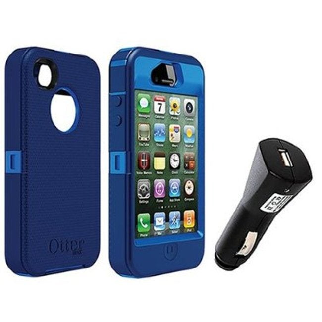 OtterBox Apple iPhone 4/4S Defender iPhone Case/ Holster/ Car Charger