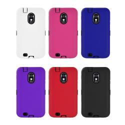 Samsung Galaxy S II Epic 4G Touch D710 (Sprint) Silicone Armor Hybrid Case